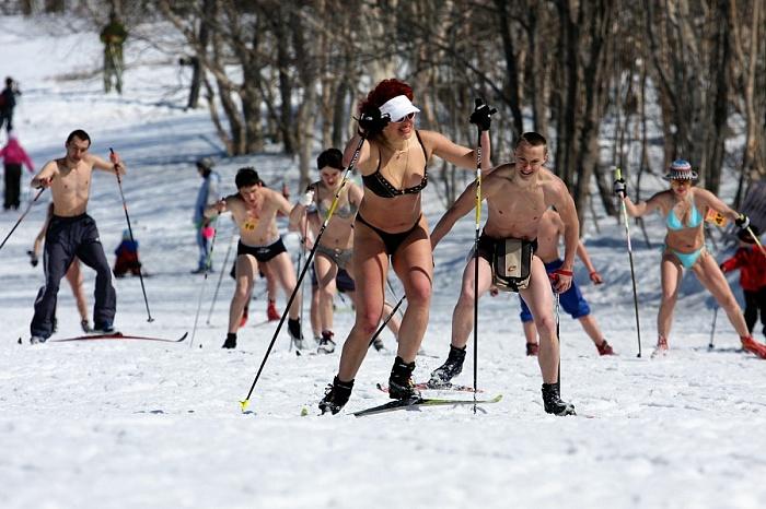 Лыжницы голые фото