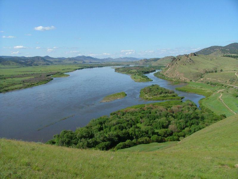 ловля на реке селенга