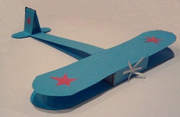 Как сделать самолет своими руками